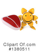 Sun Character Clipart #1380511 by Julos