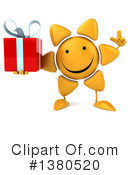 Sun Character Clipart #1380520 by Julos