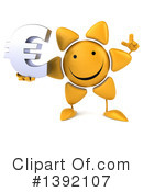 Sun Character Clipart #1392107 by Julos