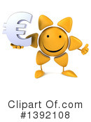 Sun Character Clipart #1392108 by Julos