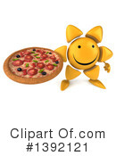 Sun Character Clipart #1392121 by Julos