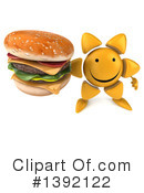 Sun Character Clipart #1392122 by Julos