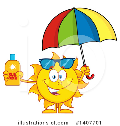 Sunblock Clipart #1407701 by Hit Toon
