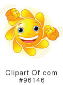Sun Character Clipart #96146 by Pushkin