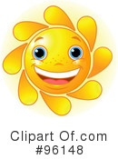 Sun Character Clipart #96148 by Pushkin