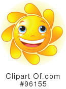 Sun Character Clipart #96155 by Pushkin