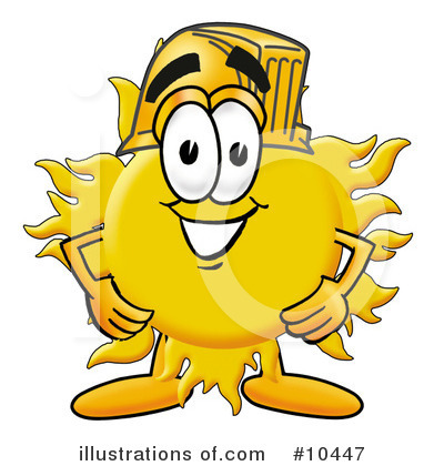 Royalty-Free (RF) Sun Clipart Illustration by Toons4Biz - Stock Sample #10447