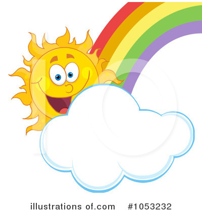 Sun Character Clipart #1053232 by Hit Toon