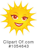 Sun Clipart #1054643 by John Schwegel