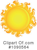 Royalty-Free (RF) Sun Clipart Illustration #1090564