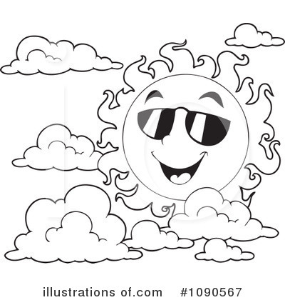 Clouds Clipart #1090567 by visekart