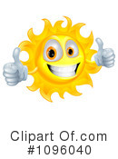 Royalty-Free (RF) Sun Clipart Illustration #1096040