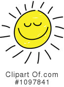 Royalty-Free (RF) Sun Clipart Illustration #1097841