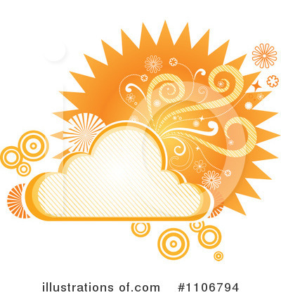 Cloud Clipart #1106794 by Amanda Kate