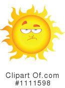 Royalty-Free (RF) Sun Clipart Illustration #1111598