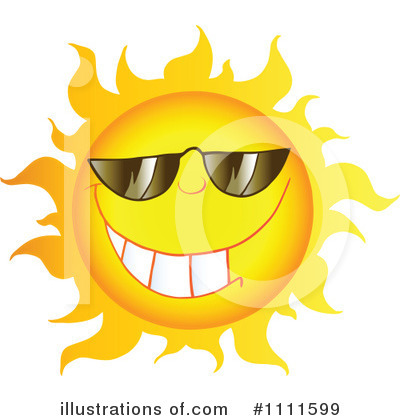 Sun Clipart #1111599 by Hit Toon