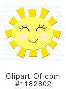 Royalty-Free (RF) Sun Clipart Illustration #1182802