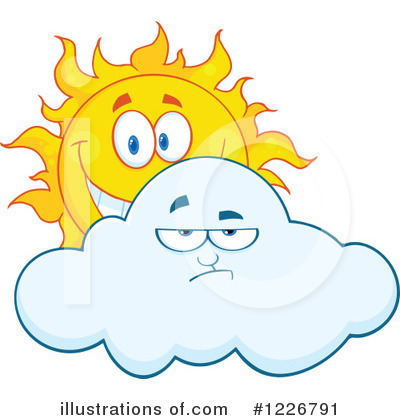 Sun Character Clipart #1226791 by Hit Toon