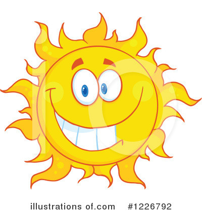 Sun Clipart #1226792 by Hit Toon