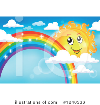 Rainbow Clipart #1240336 by visekart