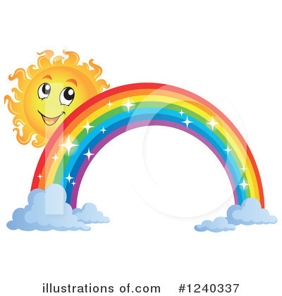 Royalty-Free (RF) Sun Clipart Illustration by visekart - Stock Sample #1240337