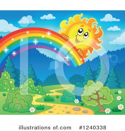 Rainbow Clipart #1240338 by visekart