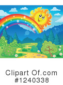 Royalty-Free (RF) Sun Clipart Illustration #1240338