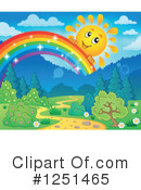 Royalty-Free (RF) Sun Clipart Illustration #1251465