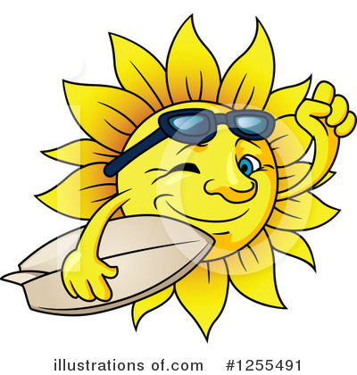 Sun Clipart #1255491 by Vector Tradition SM