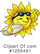 Royalty-Free (RF) Sun Clipart Illustration #1255491