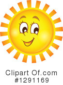 Sun Clipart #1291169 by visekart
