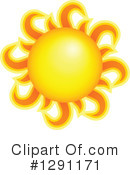 Sun Clipart #1291171 by visekart