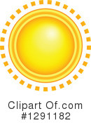 Sun Clipart #1291182 by visekart
