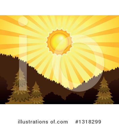 Sun Clipart #1318299 by visekart