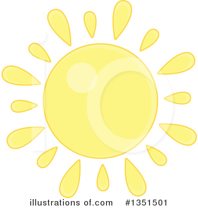 Sun Clipart #1351501 by Alex Bannykh