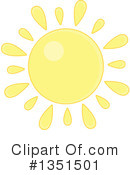 Royalty-Free (RF) Sun Clipart Illustration #1351501