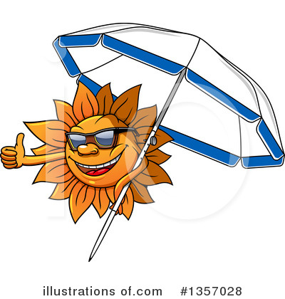 Sun Clipart #1357028 by Vector Tradition SM
