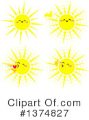 Sun Clipart #1374827 by Liron Peer