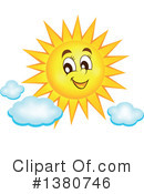Royalty-Free (RF) Sun Clipart Illustration #1380746