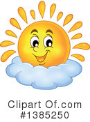 Sun Clipart #1385250 by visekart