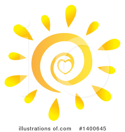 Royalty-Free (RF) Sun Clipart Illustration by Hit Toon - Stock Sample #1400645