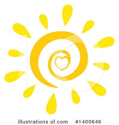 Sun Clipart #1400646 by Hit Toon