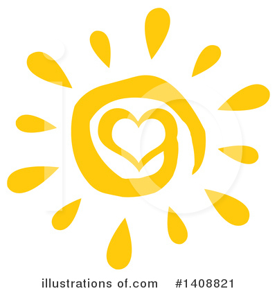 Sun Clipart #1408821 by Hit Toon