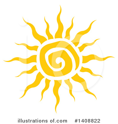 Sun Clipart #1408822 by Hit Toon