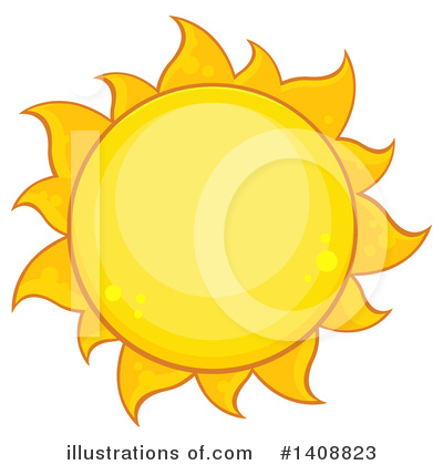 Sun Clipart #1408823 by Hit Toon