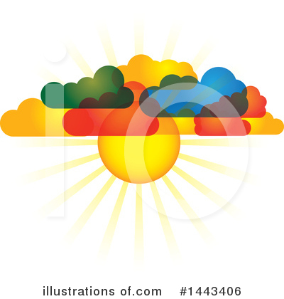 The Cloud Clipart #1443406 by ColorMagic
