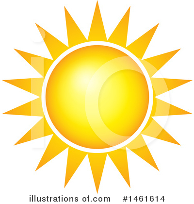 Royalty-Free (RF) Sun Clipart Illustration by visekart - Stock Sample #1461614