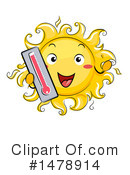 Sun Clipart #1478914 by BNP Design Studio