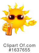 Sun Clipart #1637655 by Steve Young