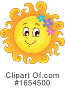 Sun Clipart #1654500 by visekart